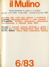 Copertina del fascicolo dell'articolo Una nuova storia della letteratura