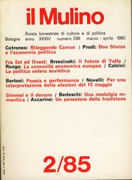 Copertina del fascicolo dell'articolo La Comunità economica europea e l'economia mondiale