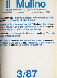 Copertina del fascicolo dell'articolo Obiettivo sulla storia