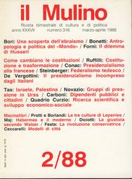 Copertina del fascicolo dell'articolo Antropologia e politica del
