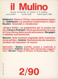 Copertina del fascicolo dell'articolo Conflitto sociale e modernità in Dahrendorf