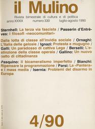 Copertina del fascicolo dell'articolo Liberalismo e teorie comunitarie