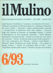 Copertina del fascicolo dell'articolo Riforme istituzionali e processi sociali