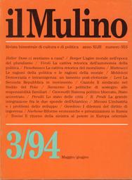 Copertina del fascicolo dell'articolo La Seconda Repubblica in movimento