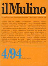Copertina del fascicolo dell'articolo Il trauma dell'otto settembre e il problema dell'identità nazionale italiana