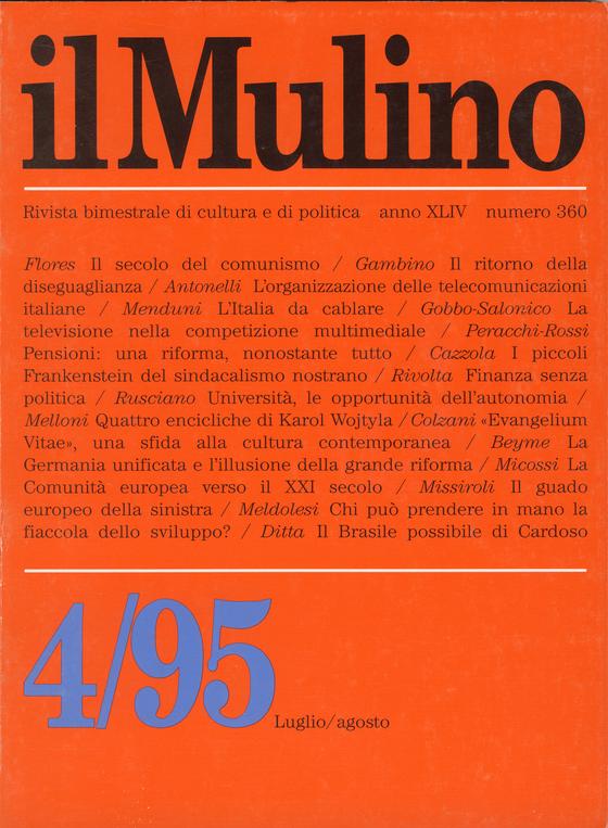 Cover del fascicolo