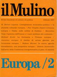 Copertina del fascicolo dell'articolo Integrazione economico-politica e pluralità culturale