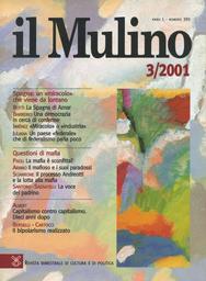 Copertina del fascicolo dell'articolo Il mafioso e i suoi paradossi