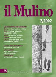 Copertina del fascicolo dell'articolo