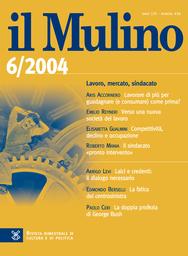 Copertina del fascicolo dell'articolo Il servizio radiotelevisivo fra Stato e mercato