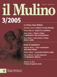 Copertina del fascicolo dell'articolo Piazze e chiese: il cattolicesimo nella secolarizzazione