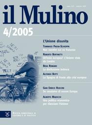 Copertina del fascicolo dell'articolo Una politica economica per rilanciare l'Unione