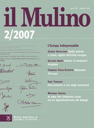 Copertina del fascicolo dell'articolo Mancanze d'Europa