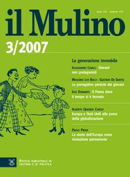Copertina del fascicolo dell'articolo Europa e Stati Uniti alla prova della globalizzazione