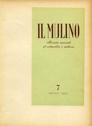Copertina del fascicolo dell'articolo Alberto Moravia fra l'equivoco e la storia