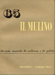 Copertina del fascicolo dell'articolo I discorsi di De Gasperi