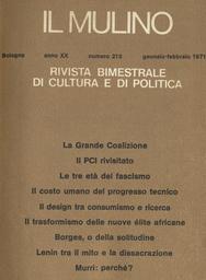 Copertina del fascicolo dell'articolo Le tre età del fascismo