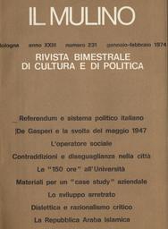 Copertina del fascicolo dell'articolo Referendum e sistema politico italiano