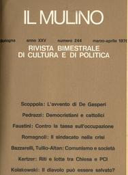 Copertina del fascicolo dell'articolo Un'ipotesi diversa di guida democratica
