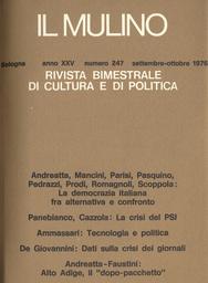 Copertina del fascicolo dell'articolo Alto Adige: il dopo-pacchetto