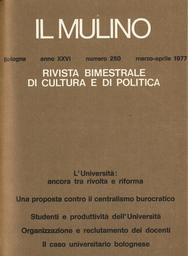 Copertina del fascicolo dell'articolo Utenti e produttività dell'Università