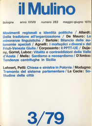 Copertina del fascicolo dell'articolo Valle D'Aosta: vitalità e contraddizioni di una Regione a Statuto speciale