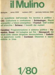 Copertina del fascicolo dell'articolo Collusione e confusione