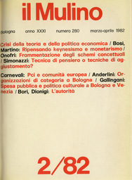 Copertina del fascicolo dell'articolo Nostalgia di carisma e povertà di utopia